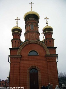 голосеевский мужской монастырь, голосеево, часовня алипии, часовня фото