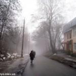 Улица Генерала Родимцева. Дорога в Голосеевский мужской монастырь Киев