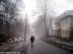 По дороге в Монастырь... Улица Генерала Родимцева города Киева