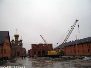 монастырь, стройка, церковь строить, храм построить