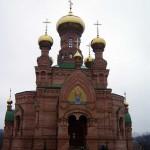Храм Голосеево, живый источник голосеево, храм алипия