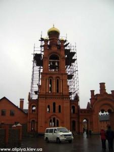 колокольня, постройка колокольни, монастырская колокольня