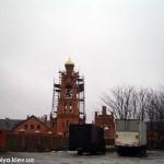 Колокольня, монастырь, стройка колокольни, голосеево, голосеевский монастырь