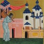 Ношение панихид в храм на Демиевку