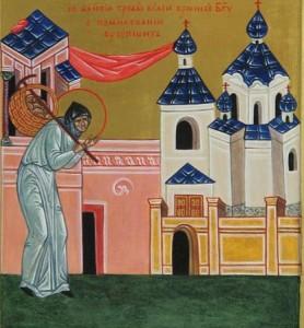 Ношение панихид в Демиевский храм