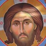 Роспись купола часовни м.Алипии (иконописцы А.Савчук и П.Яковенко)