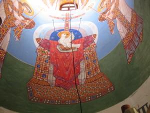 престол уготованный (роспись часовни)