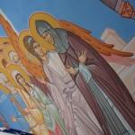 Роспись часовни Матушки( Введение в рай праведной души)