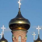 храм купола, голосеевский монастырь храм, храм Голосеево Алипия